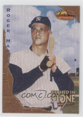 1994 Ted Williams Card Company - Etched in Stone #ES8 - Roger Maris