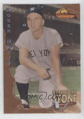 1994 Ted Williams Card Company Etched in Stone #ES1 - Roger Maris