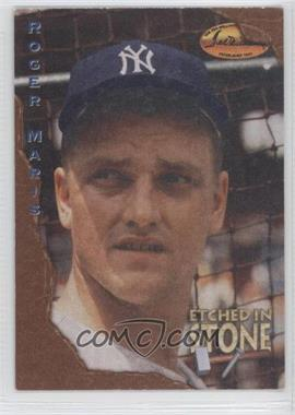 1994 Ted Williams Card Company Etched in Stone #ES3 - Roger Maris