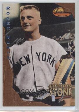 1994 Ted Williams Card Company Etched in Stone #ES5 - Roger Maris