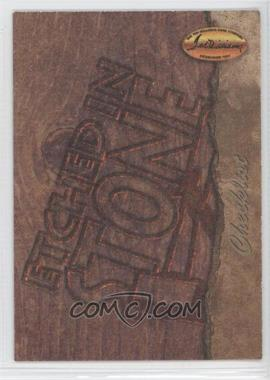 1994 Ted Williams Card Company Etched in Stone #ES9 - Roger Maris (Checklist)