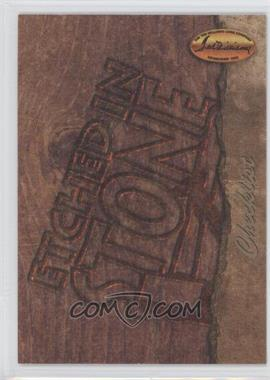 1994 Ted Williams Card Company Etched in Stone #ES9 - Roger Mason