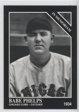 1994 The Sporting News Conlon Collection - [Base] #1125 - Babe Phelps