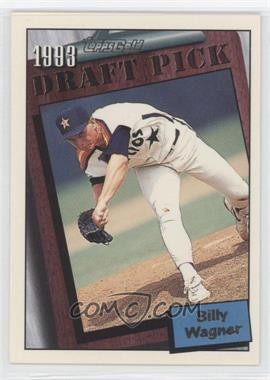 1994 Topps - [Base] - Gold #209 - Billy Wagner