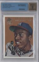 Hank Aaron /100 [BGS AUTHENTIC]