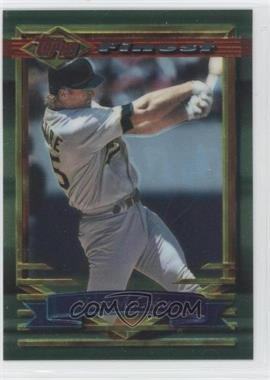 1994 Topps Finest Preproduction #78 - Mark McGwire