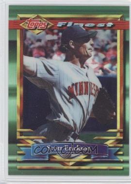 1994 Topps Finest Refractor #166 - Scott Erickson