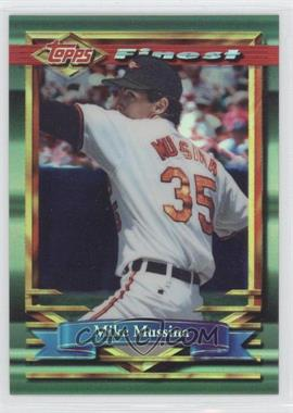 1994 Topps Finest Refractor #66 - Mike Mussina