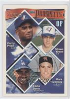Curtis Pride, Shawn Green, Mark Sweeney, Eddie Davis