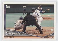 George Brett horizontal layout