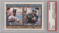 Fred McGriff, Frank Thomas [PSA 9]
