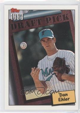 1994 Topps #751 - Dan Ehler