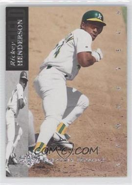 1994 Upper Deck - [Base] - Silver Electric Diamond Back #60 - Rickey Henderson