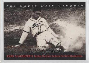 1994 Upper Deck All-Time Heroes - [Base] - 125th Anniversary #14 - Enos Slaughter