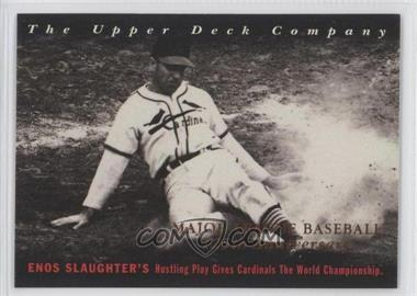 1994 Upper Deck All-Time Heroes 125th Anniversary #14 - Enos Slaughter