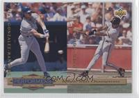 Juan Gonzalez, Barry Bonds