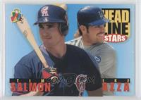 Tim Salmon, Mike Piazza
