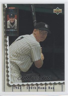 1994 Upper Deck Mickey Mantle Baseball Heroes #70 - Mickey Mantle