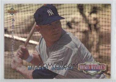 1994 Upper Deck Mickey Mantle's Long Shots Electric Diamond #MM21 - Mickey Mantle