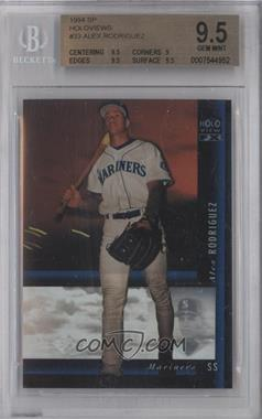 1994 Upper Deck SP Holoview FX #33 - Alex Rodriguez [BGS 9.5]