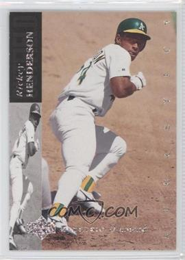 1994 Upper Deck Silver Electric Diamond Back #60 - Rickey Henderson