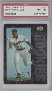 1994 Upper Deck #24 - Alex Rodriguez [PSA 9]