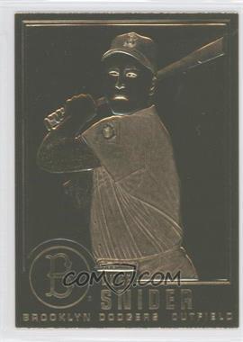 1995-05 Danbury Mint 22K Gold - [Base] #7 - Duke Snider