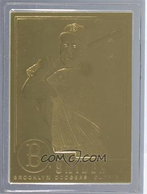 1995-05 Danbury Mint 22K Gold #7 - Duke Snider