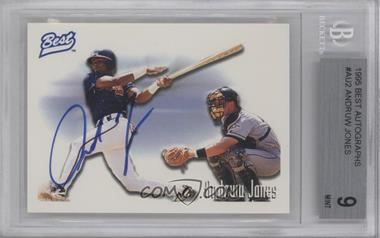 1995 Best Autographs #ANJO - Andruw Jones [BGS 9]