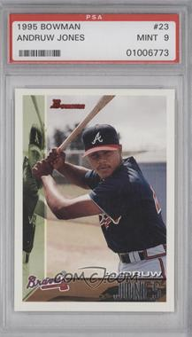 1995 Bowman #23 - Andruw Jones [PSA 9]