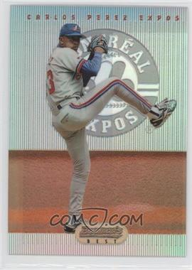 1995 Bowman's Best Red Refractor #72 - Carlos Perez