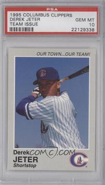 1995 Columbus Clippers Team Issue #N/A - Derek Jeter [PSA10]