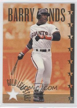 1995 Leaf Gold Leaf All-Stars #5 - Barry Bonds /10000