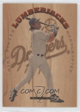 1995 Leaf Limited Lumberjacks #6 - Mike Piazza /5000