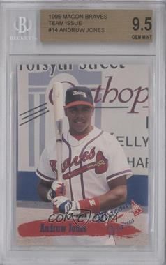 1995 Multi-Ad Macon Braves #14 - Andruw Jones [BGS 9.5]
