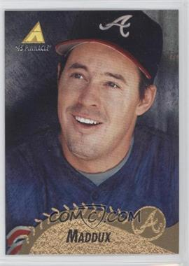 1995 Pinnacle - [Base] - Museum Collection #244 - Greg Maddux