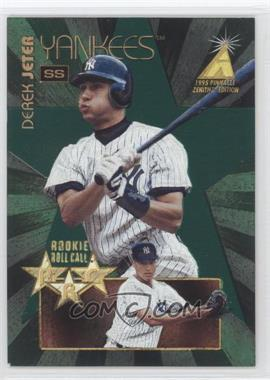 1995 Pinnacle Zenith Edition Rookie Roll Call #2 - Derek Jeter