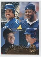 Mike Piazza, Frank Thomas