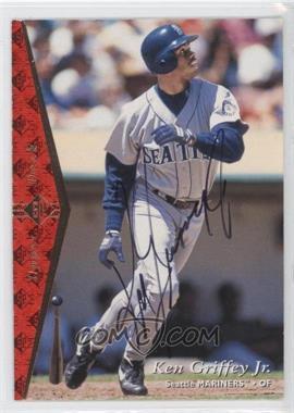 1995 SP Buy Back Autograph [Autographed] #100 - Ken Griffey Jr.