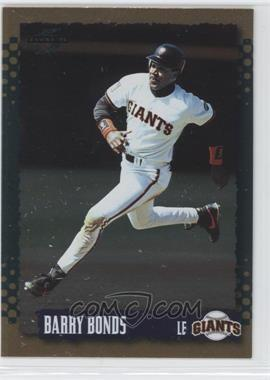 1995 Score Gold Rush #30 - Barry Bonds