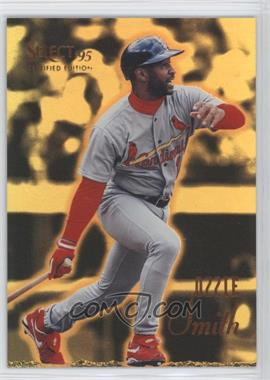1995 Select Certified Edition - [Base] - Gold Mirror #55 - Ozzie Smith
