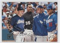 Jeff Bagwell, Frank Thomas, Ken Griffey Jr., Mike Piazza (Checklist)