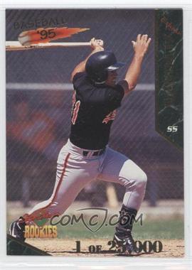 1995 Signature Rookies [???] #2 - Edgardo Alfonzo /25000