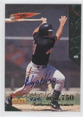1995 Signature Rookies [???] #2 - Edgardo Alfonzo /5750