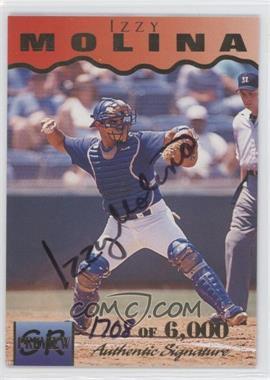 1995 Signature Rookies [???] #23 - Izzy Molina /6000