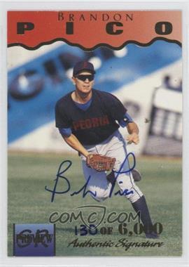 1995 Signature Rookies [???] #28 - Brandon Pico /6000