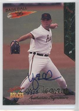 1995 Signature Rookies Signatures [Autographed] #16 - Vaughn Eshelman /5750