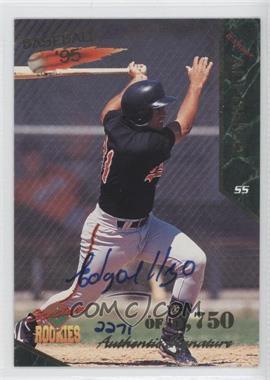 1995 Signature Rookies Signatures [Autographed] #2 - Edgardo Alfonzo /5750