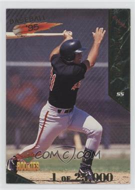 1995 Signature Rookies #2 - Ed Albrecht /25000