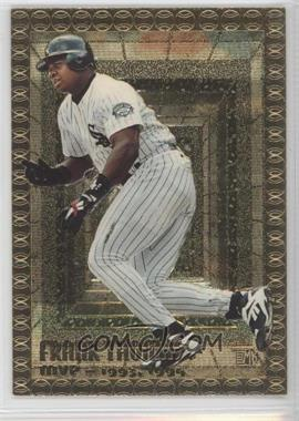 1995 Topps Embossed Golden Idols #100 - Frank Thomas